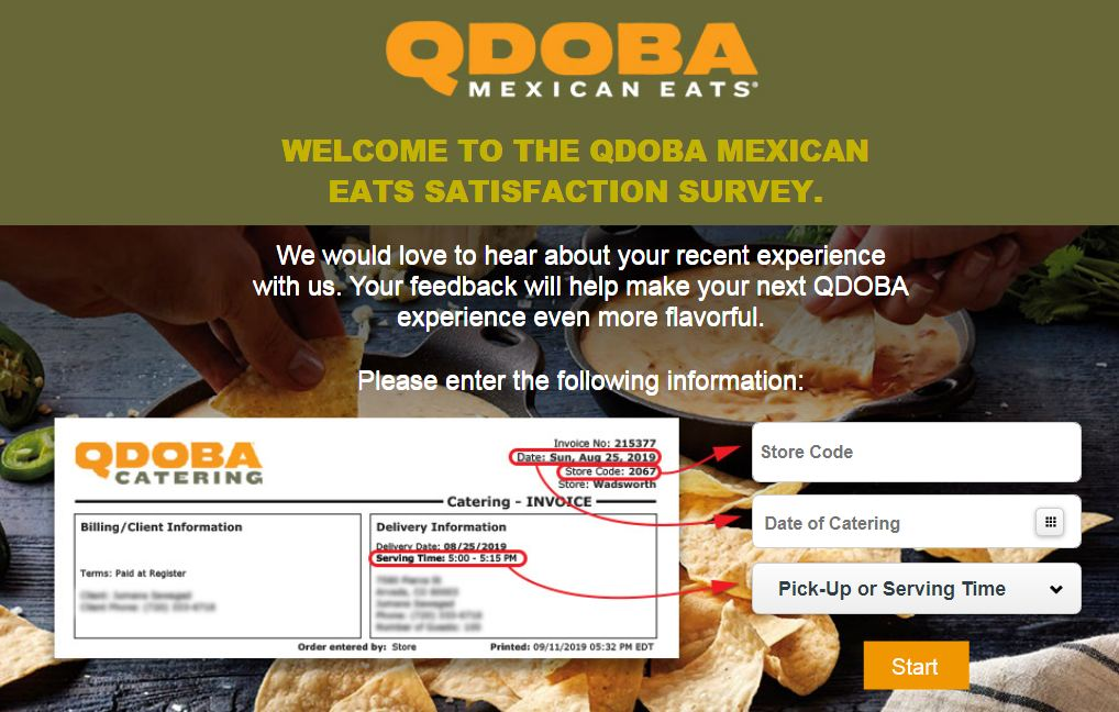 Qdoba Customer Experience Survey